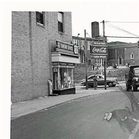 boat shipping maryland belair rd and frankford ave 1955 baltimore of old