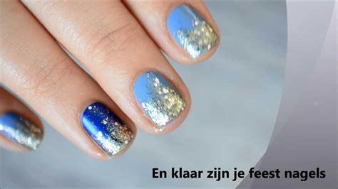 Glitter Nagels by Nail Tutorial Feest Glitter Nagels