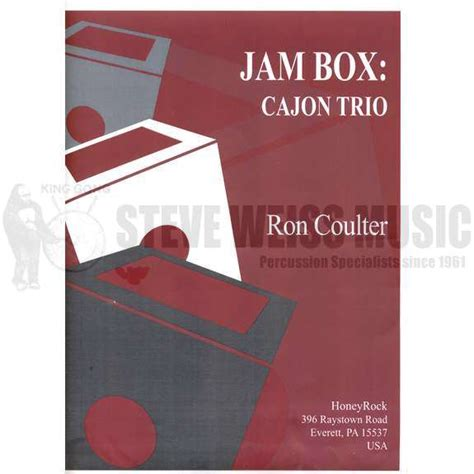 Jam Etnic Wood jam box cajon trio by coulter ensemble 3 players