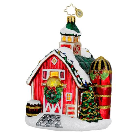 radko ornaments 2014 radko barn christmas ornament
