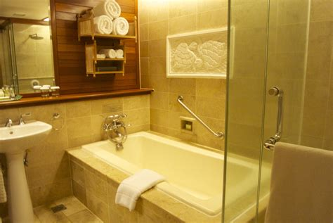 how to clean hotel bathroom our intercontinental bali review almost landing bali