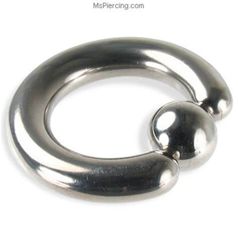 how to put on a captive bead ring titanium captive bead ring 4 ga at mspiercing