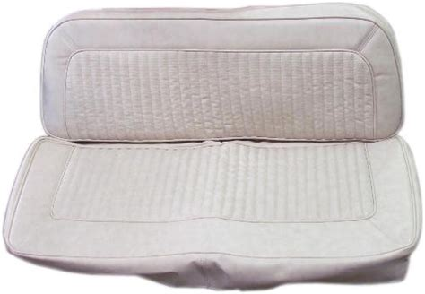 bronco bench seat rear bench seat upholstery parchment w texture toms