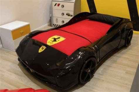 ferrari bed details about supercar beds f1 aero spider red black white