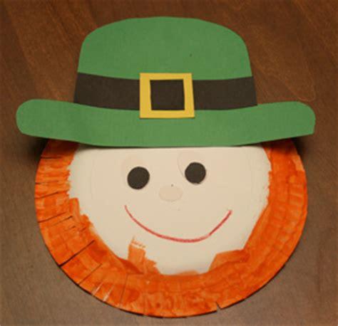 Leprechaun Paper Craft - preschool crafts for st s day leprechaun
