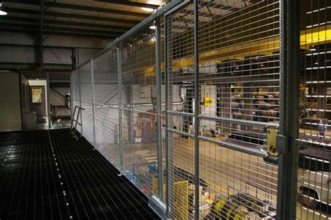 Industrial Tool Crib by Equipment Cages Wire Tool Cages Warehouse Rack And Shelf