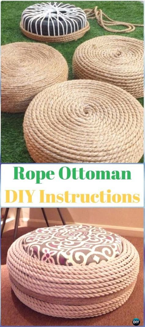 tire rope ottoman 25 unique rope tire ottoman ideas on pinterest tire