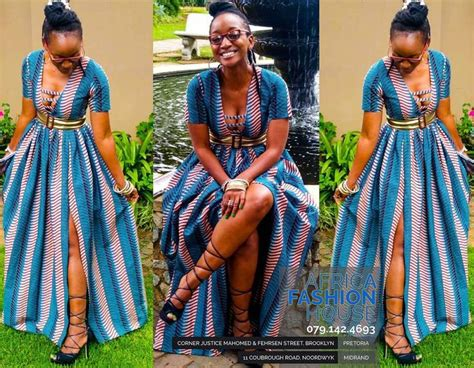 Simple African Dresses Images