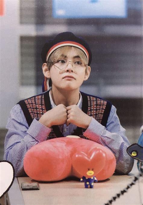 kim taehyung tata taetae and his plushie tata kim taehyung pinterest