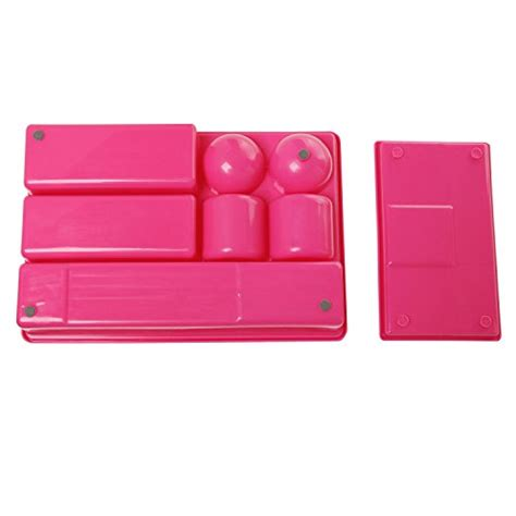 Pink Desk Organizer Pink Multi Compartment Office Desk Drawer Plastic
