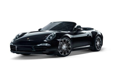 porsche convertible black 2017 porsche 911 4 black edition 3 4l 6cyl petrol