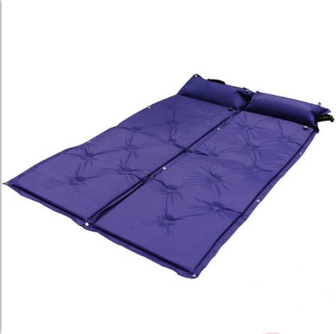 outdoor automatic picnic cing mat air bed matress portable sleeping pad with