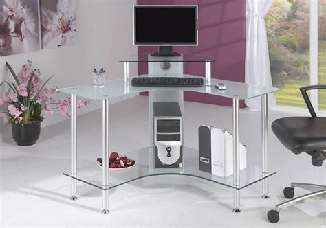 Glass Corner Desks For Home Glass Corner Computer Desks For Home Designer Glass Corner Computer Desk Desk Design