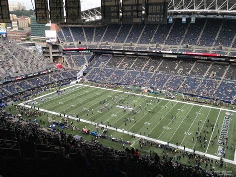 what sections are covered at centurylink field centurylink field section 331 seattle seahawks
