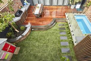Luxury Wall Design - the block series 13 back yard reveals the interiors addict