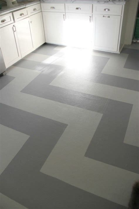Linoleum Flooring Paint 1000 Ideas About Painted Vinyl Floors On