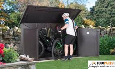bicycle storage room waterproof outdoor locking system
