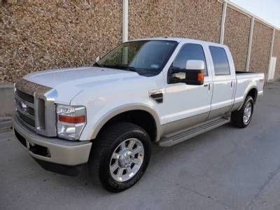 f250 short bed find used 2010 ford f250 king ranch crew cab short bed