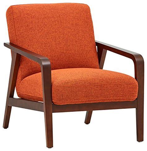 Burnt Orange Chair by Rivet Huxley Mid Century Accent Chair Burnt