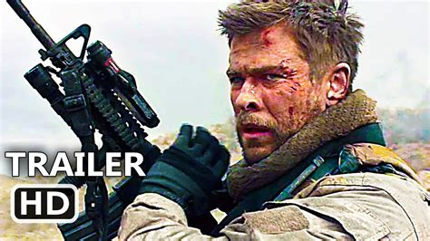 Film Action 2018 | 12 strοng official trailer 2018 chris hemsworth action
