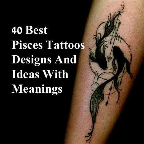 pisces wrist tattoos 40 best pisces tattoos designs and ideas with meanings