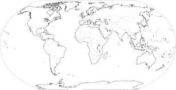 Black And White World Map by Pics Photos World Map Black And White Outline With Countries