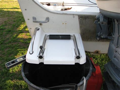 alumacraft boat ladders what s everyone using as a boarding ladder or swim