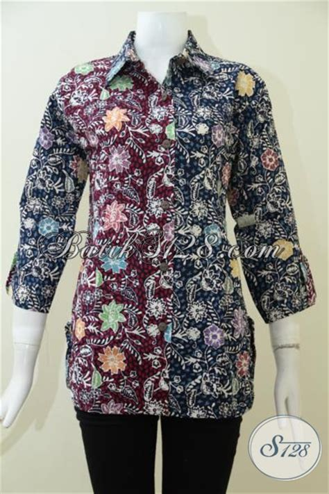 Model Baju Kerja Dan Harga Model Baju Batik Wanita Terkini Yang Lebih Rapi Dan Modis