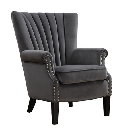 grey velvet armchair stratford armchairtidals store home furnishing stores home furnishings stores