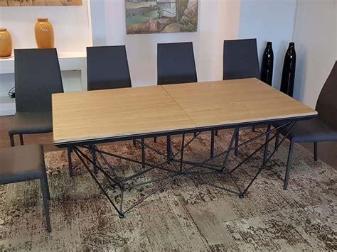tavoli allungabili outlet tavolo ozzio fil8 t238 in legno allungabile prezzo outlet