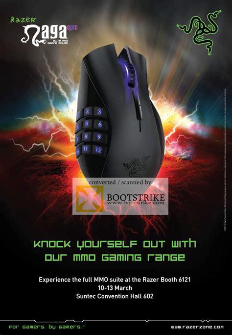 ban leong razer naga epic gaming mouse mmo suite  show