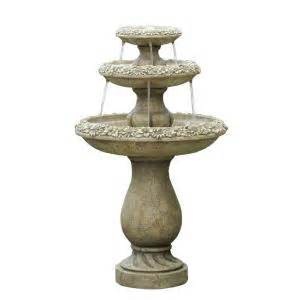home depot fountains cellar two tiers outdoor water fcl056