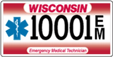 wisconsin dmv phone number wisconsin dmv official government site emergency technician emt license plates