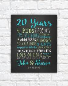 best 25 20th anniversary gifts ideas on 30 year anniversary gift anniversary by
