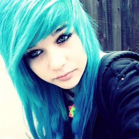 blue new hairdo 60 creative emo hairstyles for girls
