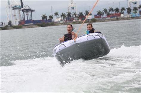 banana boat rides in south beach miami fun things to do in miami