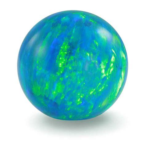 green opal blue green opal