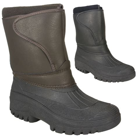 mens waterproof boots uk mens waterproof walking yard stable snow ski