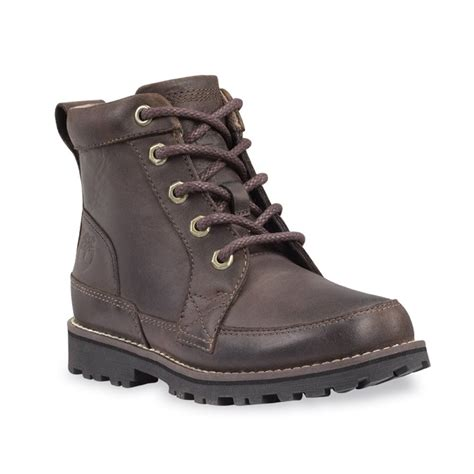 timberland earthkeepers side zip brown boot