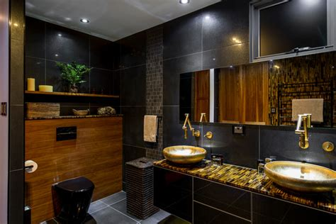 Contemporary Heated Towel Rails For Bathrooms - luxury ensuite contemporary bathroom brisbane by enigma interiors