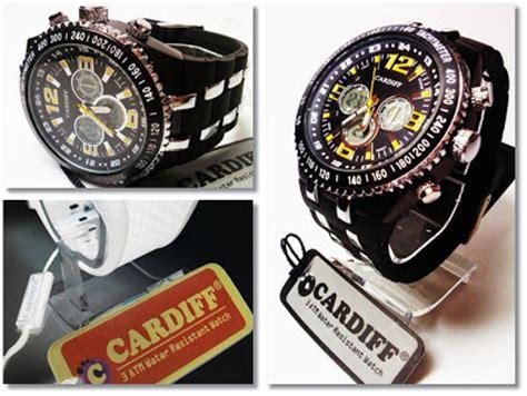 Jam Tangan Cardiff Lcdiii1513 jam tangan cardiff 1107 original water resistant 30 meter dan s jam tangan