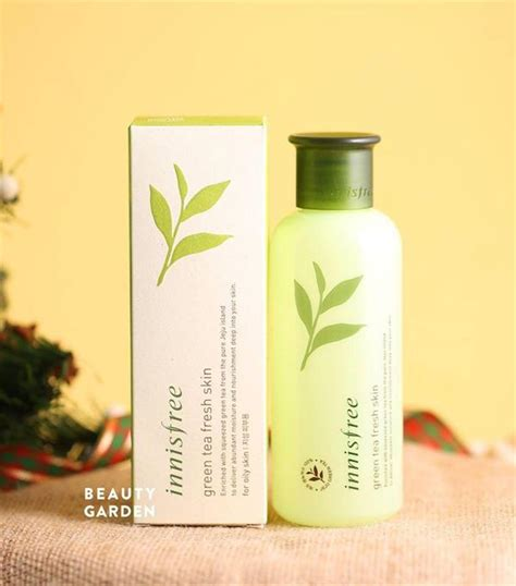 Innisfree Green Tea Fresh Skin n豌盻嫩 hoa h盻渡g d豌盻 ng 蘯ィm green tea fresh skin innisfree 200ml