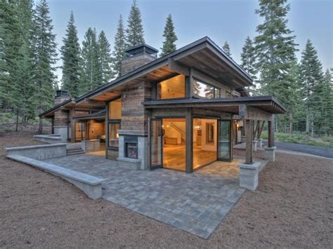 small modern cabin plans 25 best ideas about modern cabins on pinterest modern