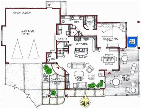 sustainable house design floor plans modern houses plans home decorating ideas