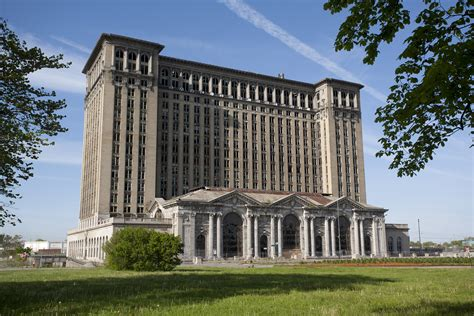 building a home in michigan future detroit before and after michigan central station