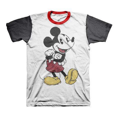 Tshirt Mickey 07 Xl From Ordinal Apparel upc 888823000083 colorblock mickey graphic upcitemdb