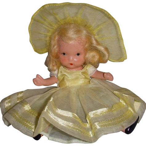 bisque storybook dolls nancy storybook doll bisque quot daffy dilly quot from