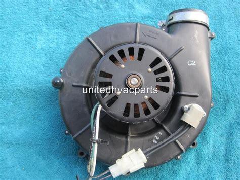 inducer fan motor assembly trane draft inducer motor assembly d330757p02 fasco 7021 9010 ebay