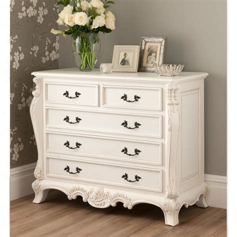 La Rochelle Bedroom Furniture La Rochelle Antique French Style Chest Whiter Bedroom