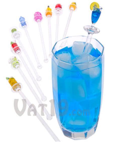 Drinks Bar Accessories Happy Hour Swizzle Sticks Set Of 10